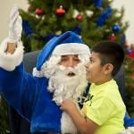 2014 Blue Santa