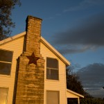 Light Painting Red Barn