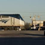 Amtrak Train in Granger