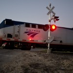 Amtrak at Dusk