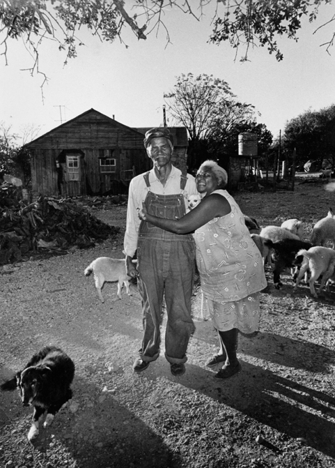 Austin and Cathy Jones, Drippng Springs, Texas, 1973.