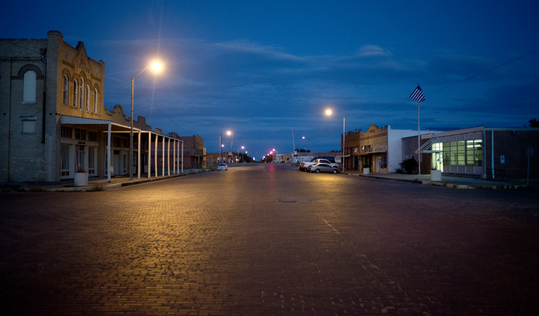 Downtown Granger, Texas.
