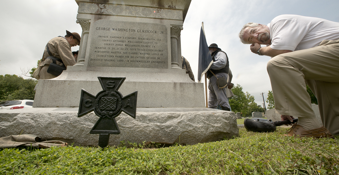 Confederate Cross Dedication
